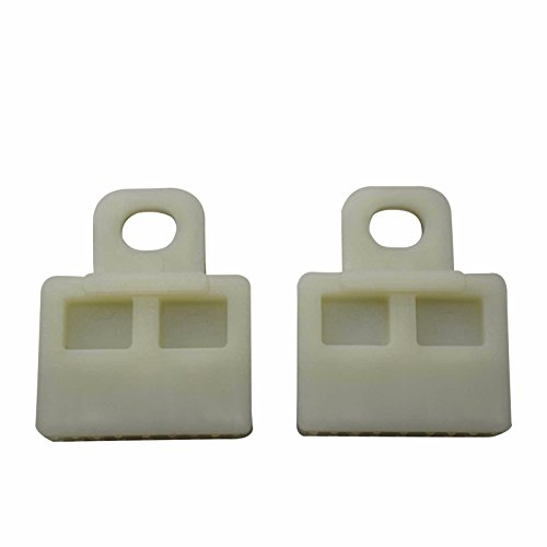 Bross BWR5019 2 Pieces Window Regulator Glass Channel Slider Sash Connector Clips for Toyota ()