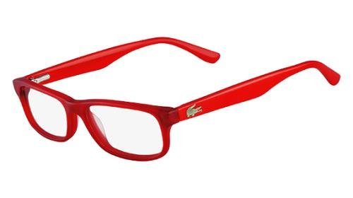 LACOSTE Eyeglasses L3605 615 Red 45MM