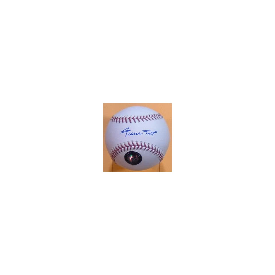 Willie Mays Autographed San Francisco Giants Baseball w