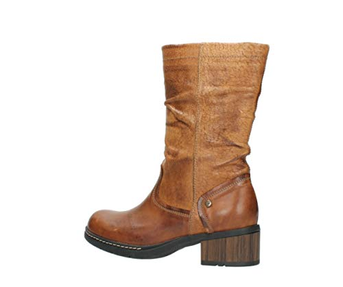 Boots Wolky 39430 Leather Cognac Edmonton Comfort H44qTxw5F