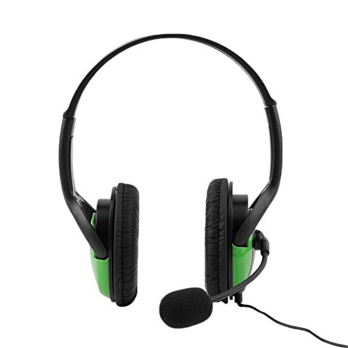 leenBonnie Hot 3.5mm Audio Wired Gaming Cuffia Auricolare Steoro Microfono per Playstation 4 PS4 Gaming PC Chat per iPad 4 Mp3