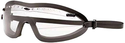 Smith Optics Elite Boogie Regulator Asian Fit Goggles, Clear, Black Silicone Strap (Asian Fit)