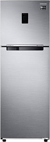Samsung 345 L 3 Star   2019   Inverter Frost Free Double Door Refrigerator RT37M5518S8/HL, Elegant Inox, Convertible