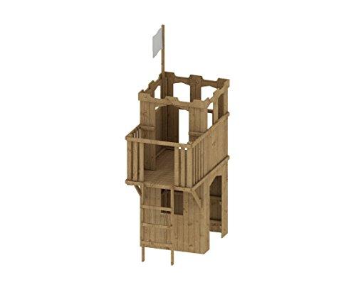 "Brandneu Spielturm Ritterburg Erlebniswelt ""FIPS"", 109x163x247cm  YO84"