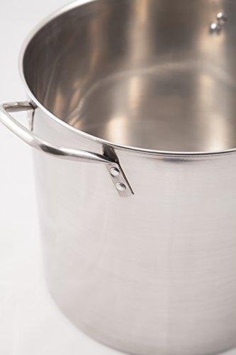 Heuck 36003 4 Piece Stainless Steel Stock Pot Set