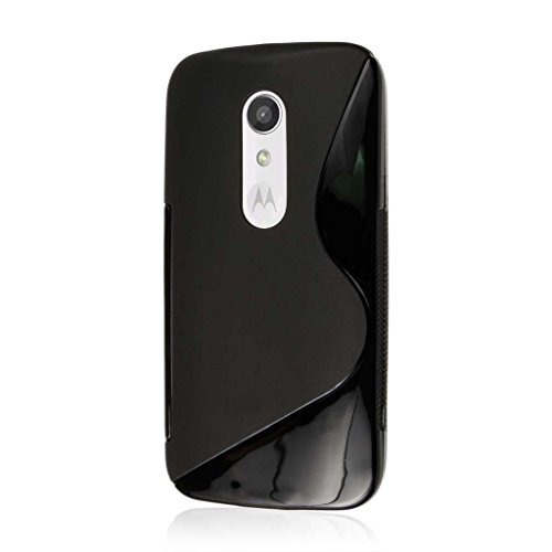 Moto G (2nd Gen) / Moto G EXT Case, MPERO FLEX S Series Protective Case for Motorola Moto G (2nd Gen 2014) / Moto G EXT - Black (Moto G Ext Accessories)