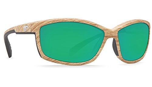 Costa Del Mar Manta 400G Manta, Ashwood Green Mirror, Green - Mar Del Costa 400g