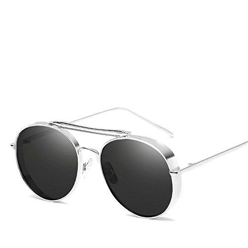 Chahua Lunettes fashion lunettes Lunettes de personnalité métal commun entre les hommes et les femmes.