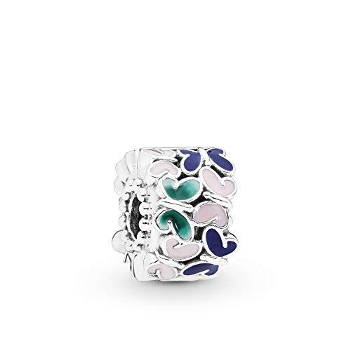 Enamel Butterfly Charm - PANDORA Butterfly Arrangement 925 Sterling Silver Charm - 797863ENMX