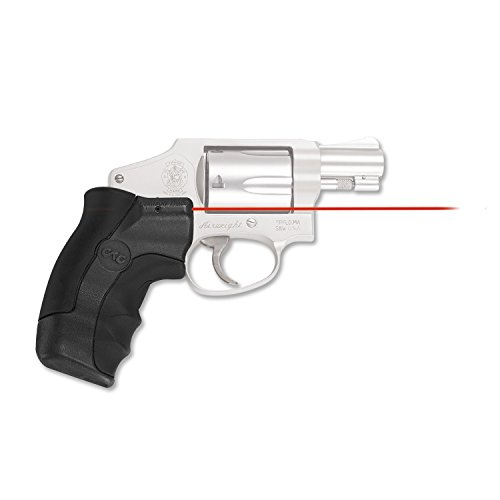 Smith & Amp ; Wesson (Crimson Trace LG-350 Red Laser Lasergrip for Smith & Wesson J-Frame Round Butt)