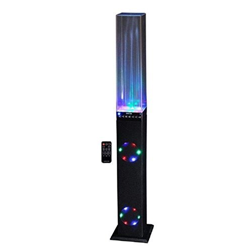Water Dancing Tower Speaker System With Color Changing Li...