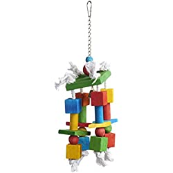 Prevue Pet Products 60955 Bodacious Bites Crazy Legs Bird Toy, Multicolor