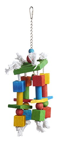 Prevue Pet Products 60955 Bodacious Bites Crazy Legs Bird Toy, Multicolor ()