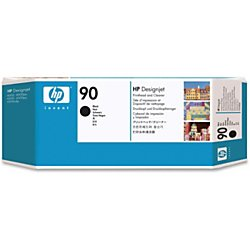 HP 90, Black Ink Printhead (C5054A) (90 Black Printhead Cleaner)