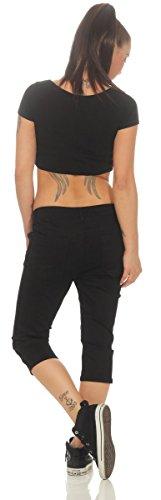 Noir Jeans Femme OSAB Fashion OSAB Fashion fTp0W8nq
