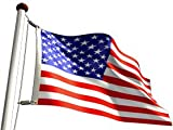 US Flag American Flag (2 Ply 100% Polyester) 3'X5′ FMAA Certified