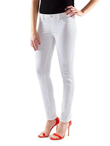 Donna Bianco 001 Skinny Carrera Jeans FqwYRR