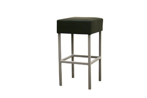 - Baxton Studio Andante Black Faux Leather Counter Stool