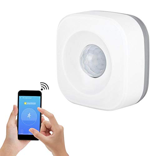 Pir Motion Sensor,Infrared Motion Detector with All-Round, Blindspot-Free Coverage for Indoor or Outdoor Use