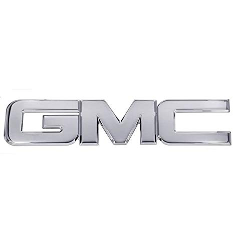 All Sales 96502P GMC Tailgate/Liftgate Emblem replacement, Polished - Fits GMC CBS Sierra 1500, 2500/3500, Yukon, Envoy, Acadia, Terrain Rear