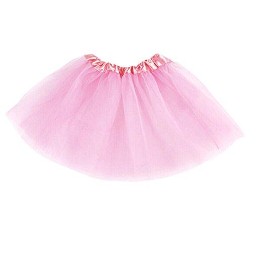 ROPALIA Girls Kid 3 Layer Tutu Ballet Dance Dress Skirt Pettiskirt Costume 2-7T (Ballet Dancing Costume)