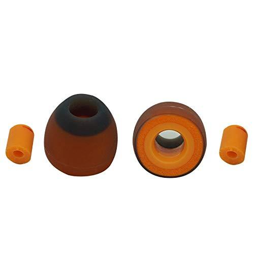 [해외]Symbio Eartips 하이브리드 이어폰 실리콘 + 형상 기억 폼 축 직경 2 ~ 2.5 mm 대응 S 사이즈 2 켤레 Type Wa / Symbio Eartips Hybrid Earpiece Silicon Shape Memory Foam Shaft Diameter 2-2.5mm S Size 2 Pair Type Wa