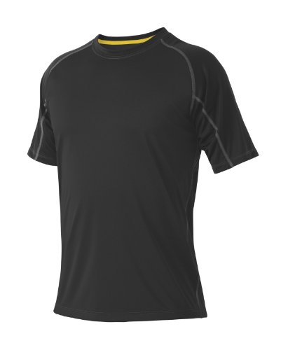 DeMarini Men's Yard-Work Gradient Training T-Shirt, Black, X-Large