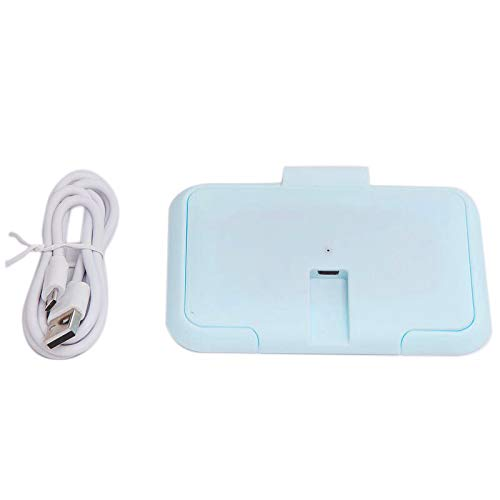 cherrypop USB Portable Baby Wipes Heater Thermal Wet Towel Dispenser Napkin Heating Box Cover Home/Car Tissue Paper Warmer