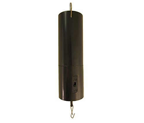 (In the Breeze 10025 Battery-Operated Rotating Motor for Hanging Display, Black)