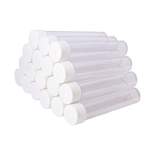 Clear Plastic Storage Tubes - 1