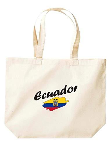Grande Países Equador De Bandera Bolsa Land Compras Natural Shirtinstyle RIw0qdxvnd