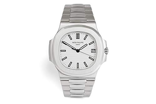Patek Philippe Nautilus Mechanical (Automatic) Silver Dial Mens Watch 5711/1A-011 (Certified Pre-Owned)