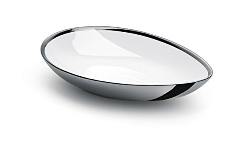 Oval Silver Plated Serving Tray - Oval Silver Plated 925 Sterling Pasta/Salad Serving Bowl