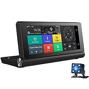 Casavidas junsun E28 Monitor WiFi para Coche 1080p con cámara para, navegador GPS g-Sensor Integrado: Amazon.es: Coche y moto