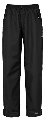 Trespass Men's Corvo Trousers, Black, Medium