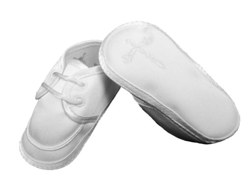 Boys Satin Shoe with Celtic Cross (4) from Little Things Mean A Lot