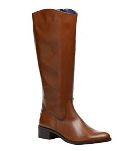 11sunshop Piel Otra marrón para mujer de marrón Horse Botas UqwCxUr
