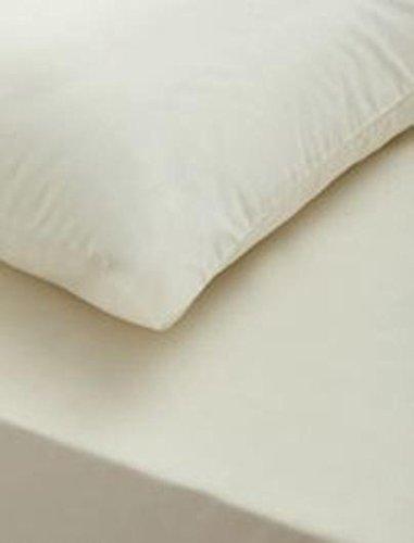 LnB Ohrpassstücke für T cremefarben cremefarben cremefarben Super King Größe 100% ägyptische Baumwolle Comfort Flaches Bett Spannbetttuch Einzelbett Doppelbett King  Kissen Fällen, Einzelbett B077S2NDTZ Bettlaken 7b0493