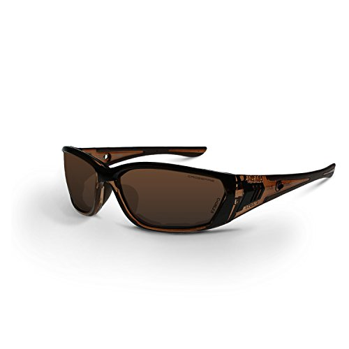 Crossfire Eyewear 35117 710 Safety Glasses with Brown Frame and Brown AntiFog Lens - Safety Glasses Brown Lens