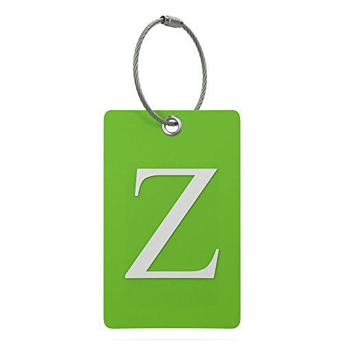 identificador de valija equipaje mochila letra Z
