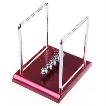 Newton/'s Cradle Steel Balance Balls Physics Science Pendulum Desk Fun Toy UK