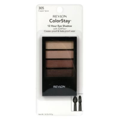 Revlon ColorStay 12 Hour Eye Shadow Quad (305 Cuivre Spice)