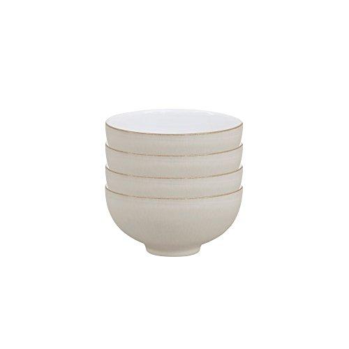 Denby USA Natural Canvas Set of 4 Rice Bowls