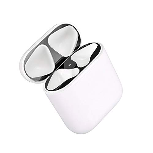 Metal Dust Guard for Apple AirPods Case Cover Accessory Protection Sticker Skin Protecting AirPods from Iron Metal…