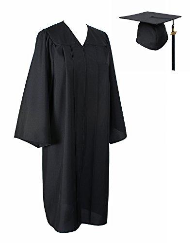 GraduationService Matte Gown Cap Tassel 2017 Unisex (Judges Robe)