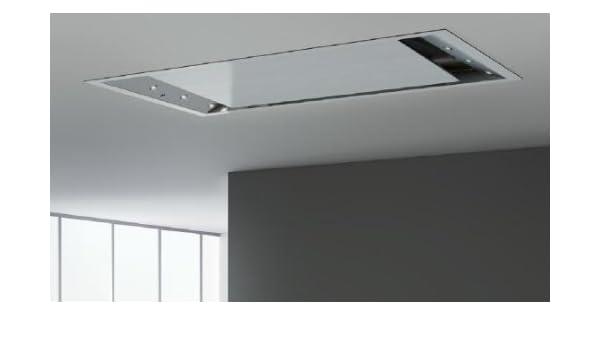 Pando E-220 De techo Blanco - Campana (Canalizado, De techo, Blanco, Acero inoxidable, 1,2 W, 8 bombilla(s)): Amazon.es: Hogar