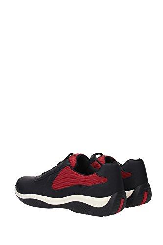 Sneakers EU Schwarz 4E2905NEROPORPORA1 Herren Prada xf0XnUU
