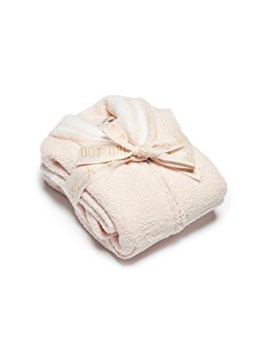Barefoot Dreams CozyChic Zip-Up Starfish Robe Sunrise Pink/White, 4T-5T