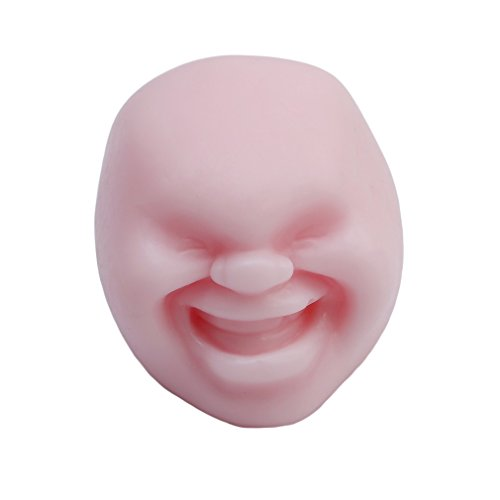 HS Humorous Face Shape Toys Anti-stress Reliver Vent Ball - Shapes With Faces