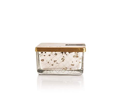 Capri Blue 4 Ounce Mercury Found Glass Jewel Box Candle w/ - Capri Soy Candle